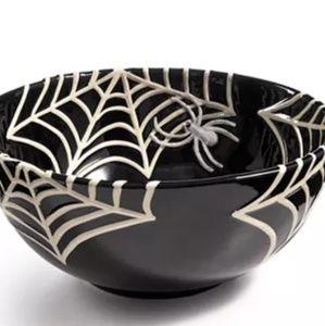 Martha Stewart Collection Spiderweb Treat Bowl.